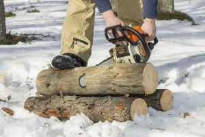 The GreenWorks 20222 9Amp 14-Inch Corded Chainsaw: Small and Easy Cutting
